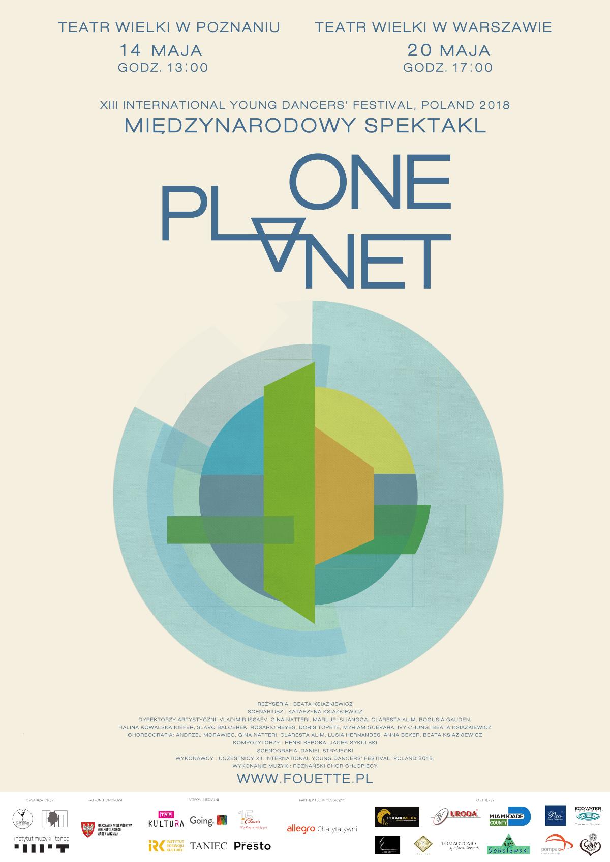 """Międzynarodowy Dzień Matki Ziemi – Spektakl pt. """"One Planet"""""""