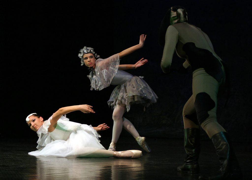 Spektakle baletowe w Teatrze Wielkim w Poznaniu.